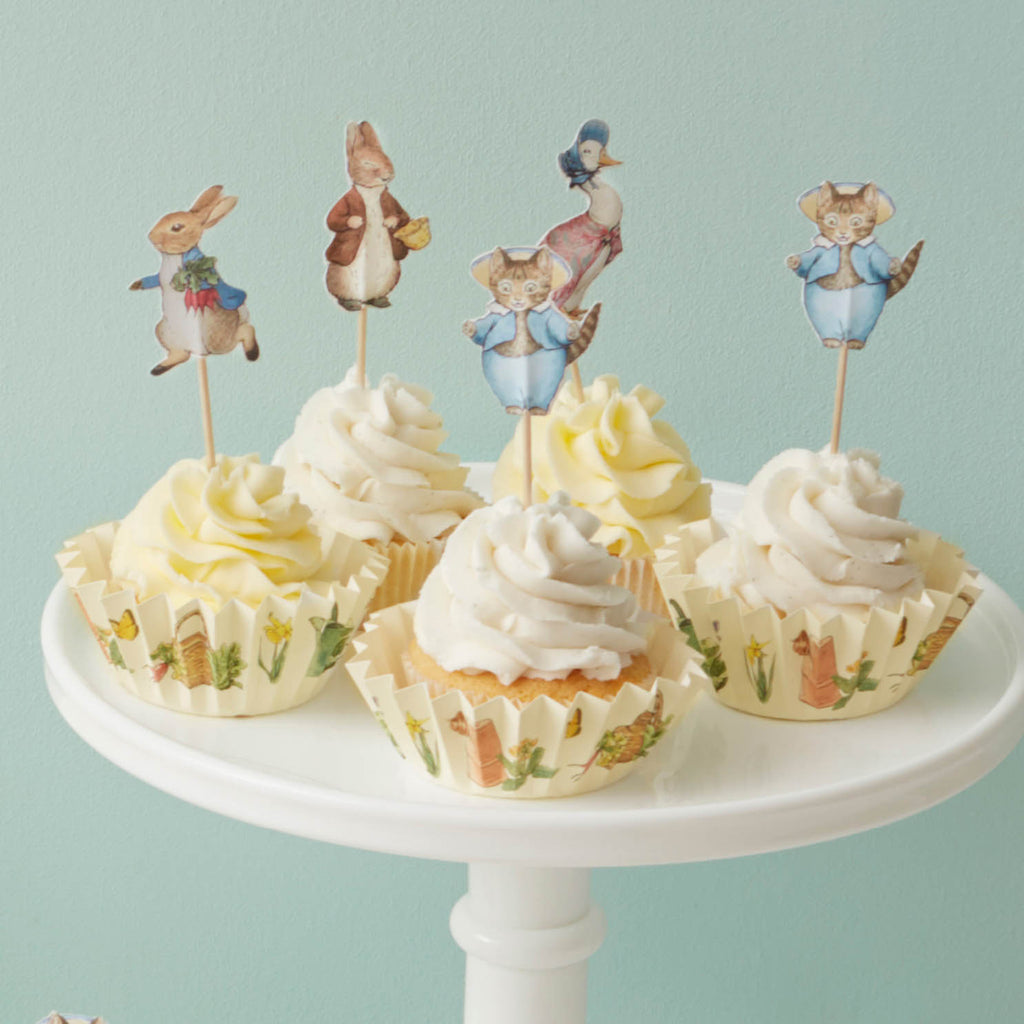 Peter Rabbit & Friends Cupcake Kit (x24)