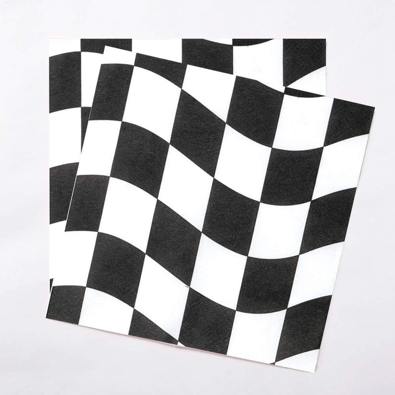Racing Stripes Lunch Napkins (x18)