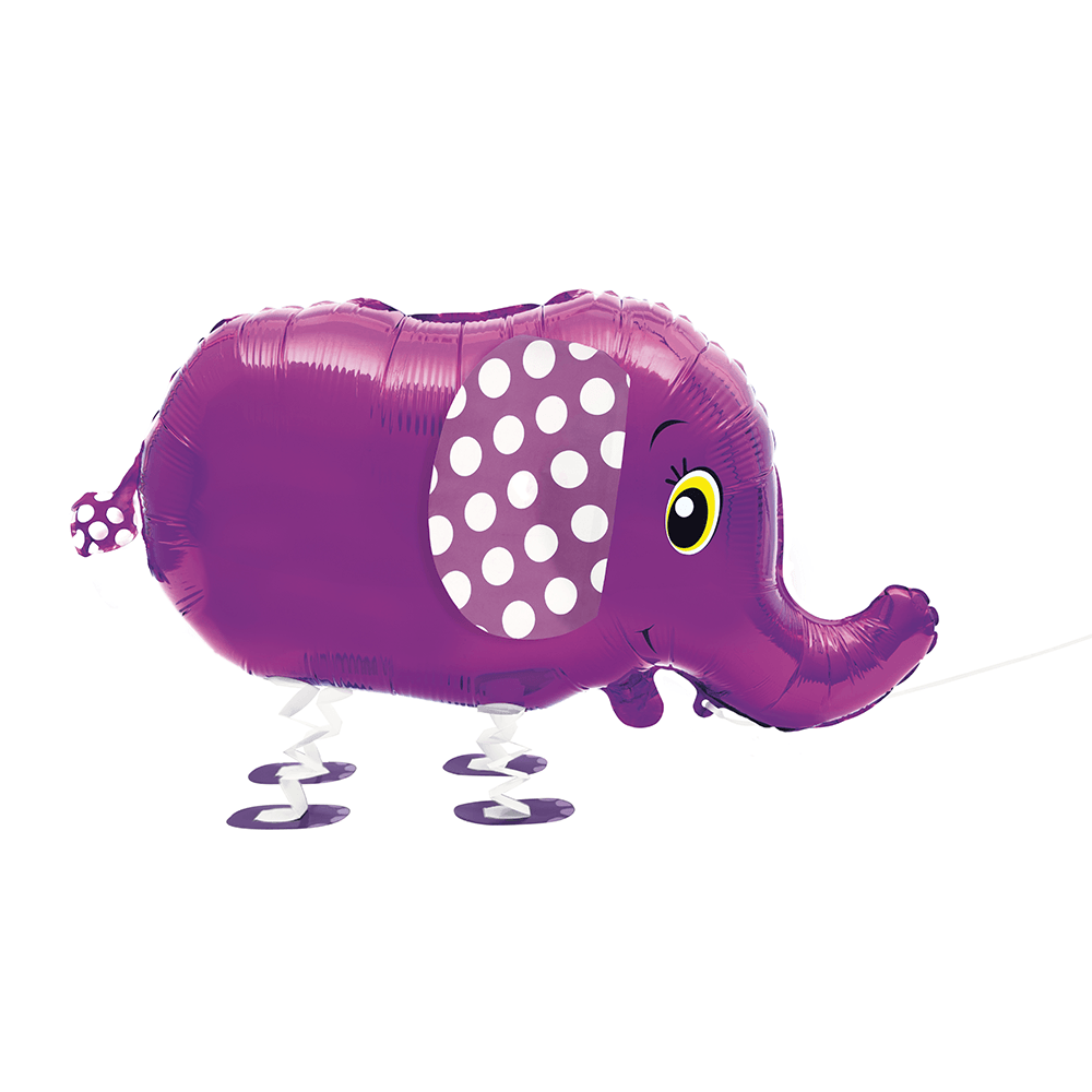 Walking Pet Elephant Floating Balloon
