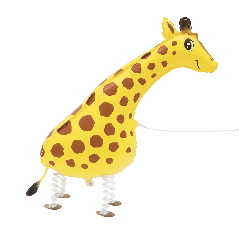 Walking Pet Giraffe Floating Balloon