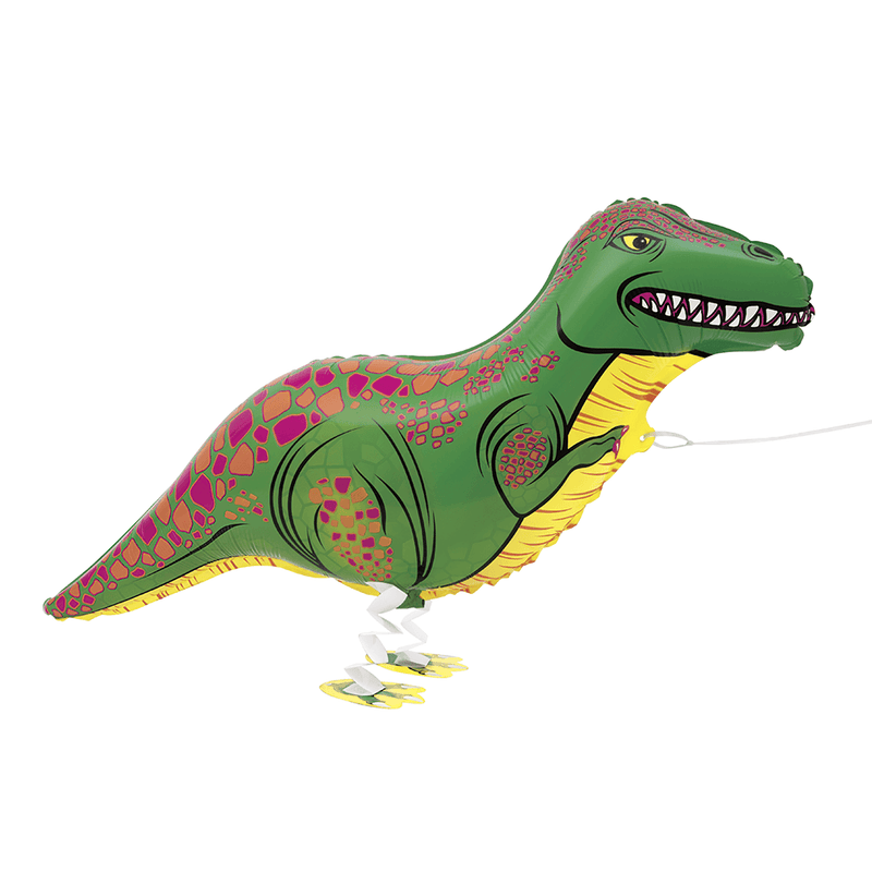Walking Pet T-Rex Floating Balloon
