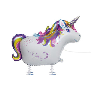 Walking Pet Unicorn Floating Balloon