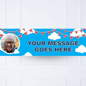 Best of British Personalised Party Banner