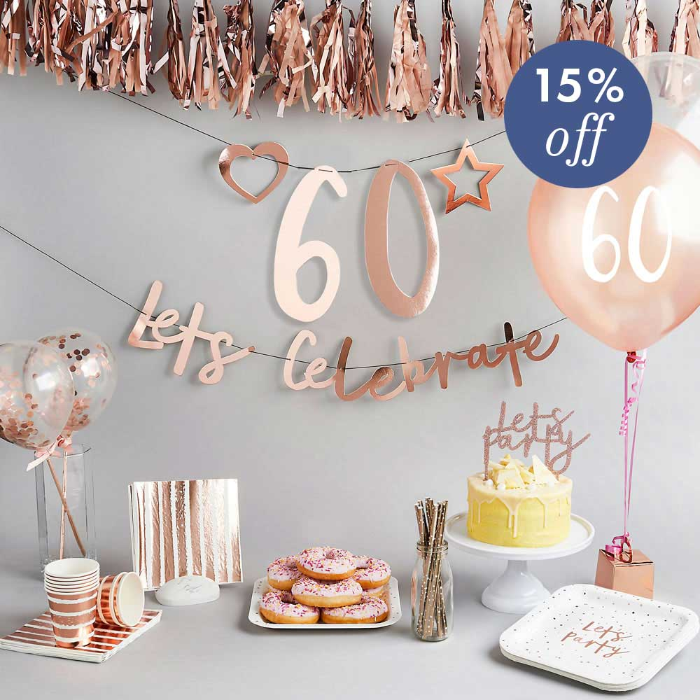 Create Your Own Bundle - 60th Birthday
