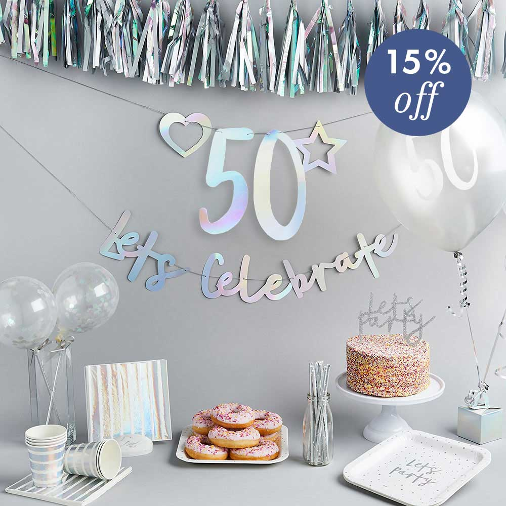 Create Your Own Bundle - 50th Birthday
