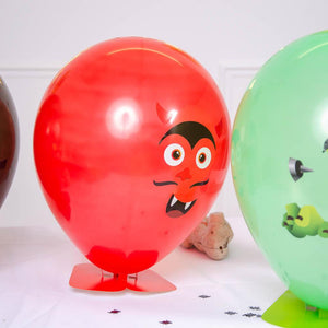 Halloween Balloon Heads (x4)