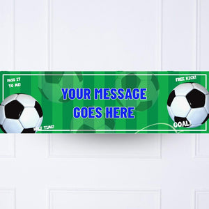 Football Mania Personalised Banner