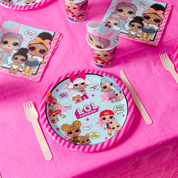 LOL Surprise Party Table Set