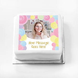 Personalised Message Gift Cake – Mix it Up