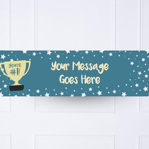 You're #1 Personalised Party Banner