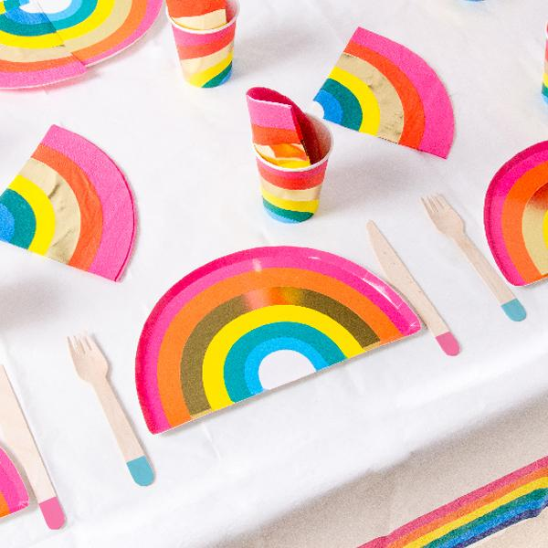 Rainbow Brights Party Table Set (x12)
