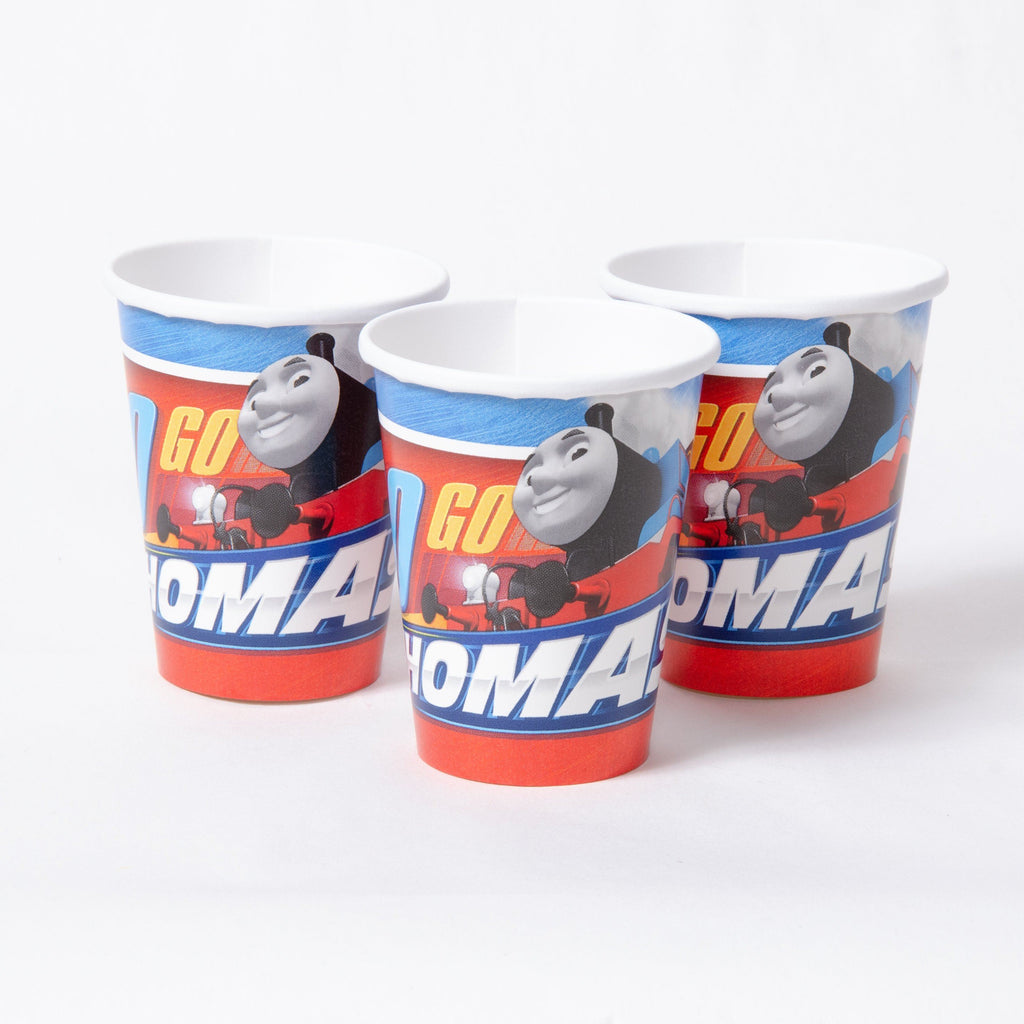 3 Thomas the Tank Engine party cups