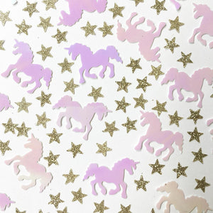 Unicorn Table Scatter Confetti
