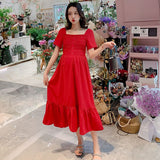 Elegant Summer Red Maternity Dress Bodycon Loose Clothes for Pregnant Women Slim Red Pregnancy Dresses Party Long Dress Drop Shipping Red Maternity Party Dress