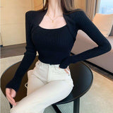Soft Thick Winter Slim Pullovers 2020 Sweaters Women Knitted Full Sleeve U-Neck Elegant Chic Pullover 2020 Women Sweater