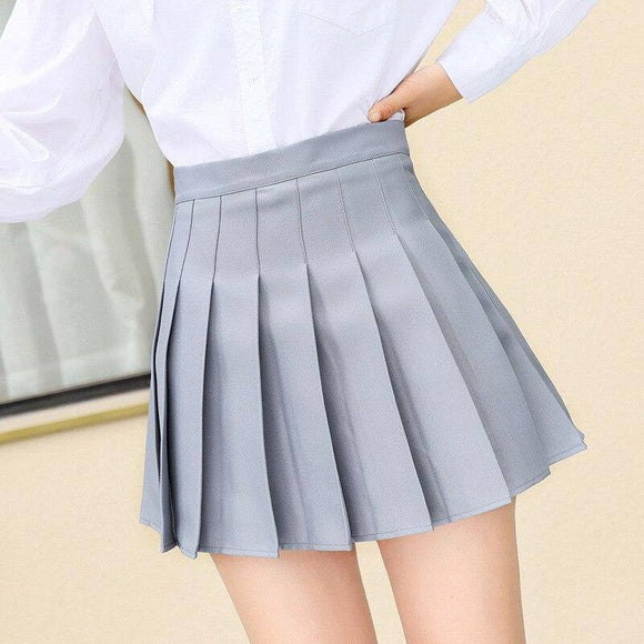 Sexy Skirt Xs-3Xl Plaid Summer Women Skirt 2021 High Waist Stitching Student Pleated Skirt 2021 Women Cute Sweet Girls Dance Mini Skirt 2021