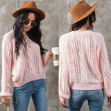 Women Sweater Long Sleeve Winter Warm Pullover 2020 Top Elegant Ladies Thick Clothes Casual Plain Knitwear Streetwear Pullover Sweater 2020</p>