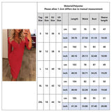 V Neck Slim Fit Red Dress 2020 Women Zipper 3/4 Sleeve Sexy Dress 2020 Party Club Fashion Female Knee-Length Sheath Dress 2020 New D30