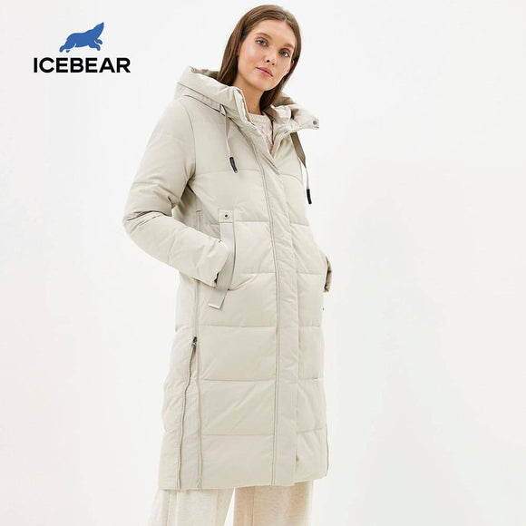 Winter Long Coat 2020 Ladies Classic High-Quality Cotton Parka Fashionable Ladies Winter Coat 2020 Gwd20157I