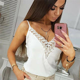 Women Summer Sleeveless T Shirt Sexy V-Neck Loose Casual Female Top 2020 Vest Ladies Clothing