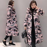 Thick Warm Parkas 2020 Pocket Parkas 2020 Outwear Winter Women Parkas 2020 Jacket 2020 Fashion Hooded Long Down Cotton Coat 2020 Female Women's Trench Coat 2020