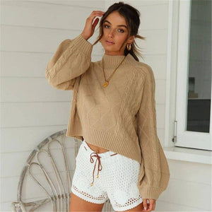 Winter Fashion Women Loose Knitted Sweater Elegant Long Sleeve Harajuku Knitwear Ladies Truien Dames Pullover 2020 Classic Streetwear Pullover Sweater 2020</p>