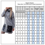 Turtleneck Dress 2020 Winter Female Pu Leather Stitching Casual Sweatshirt Dress 2020 Women Long Sleeve Pockets Chic Mini Dress 2020 D30