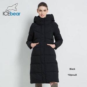 New Women'S Fashion Brand Parka Winter Jacket Simple Cuff Design Windproof Warm Female High Quality Coat 2020 Gwd18150