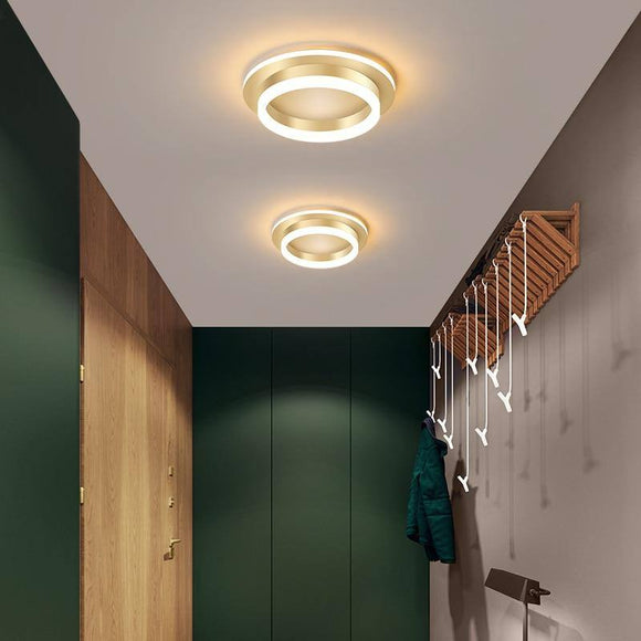 Led Chandelier Light 2020 Corridor Hallway Surface Mounted Acrylic Ceiling Backlight 20W Modern Lamp Lustres Lampadario Ac85-260V Best Seller! Chandelier Light Fixture