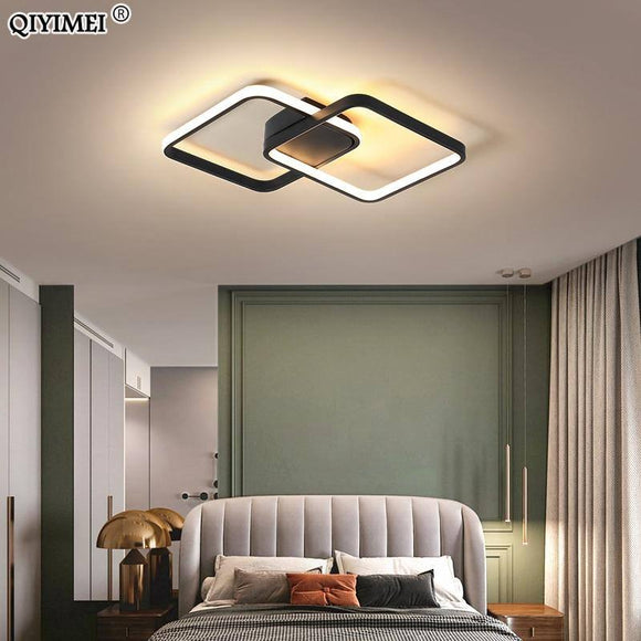 Modern Led Chandelier Light 2020 With Remote Control Indoor Lighting For Bedroom Living Children Room Lamps Dimmable Techo Lustreac90-260V Best Seller! Chandelier Light Fixture