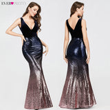 Sexy Sequined Little Mermaid Burgundy Prom Dresses 2020 Sparkle Party Gowns New Arrival Cheap Long Prom Dresses 2020
