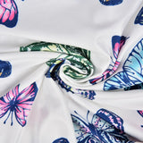 Sexy Bodysuits 2020 Playsuits Women Butterfly Printed Sportwear Overallls Female Summer Sexy Backless Butterfly Print Romper 2020 Sleeveless Streetwear   Swansstyle
