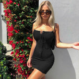 Sexy Mini Party Dress 2020 Women V Neck Spaghetti Strap Short Dress 2020 Night Club Bodycon Ladies Backless Dress 2020   Swansstyle