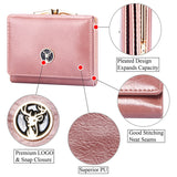 Short Women's Wallet for Woman Small Wallets Leather Coin Purse 2020 Ladies Fashion Hasp Female Wallet Mini for Student Card Holders