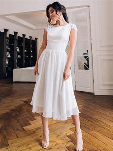 Short Wedding Dress 2020 Robe De Mariee Chiffon Wedding Dresses 2020 Sexy Bridal Dresses Boho Lace Wedding Dress