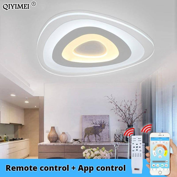 Ultrathin Surface Mounted Modern Led Ceiling Chandelier Light 2020 For Living Room Bedroom Lustres De Sala Chandelier Light 2020 Best Seller! Chandelier Light Fixture