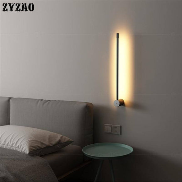 Minimal Personality Creative Metal Wall Lamp 2020 Nordic Modern Corridor Background Wall Light Living Room Decor Bedroom Bedside Lamp 2020