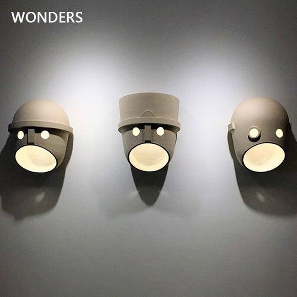 Creative Modern LED Wall Lamp 2020 Mounted Resin Cartoon Doll Wall Light Fixtures for Bedroom Corridor aisle supermarket decor