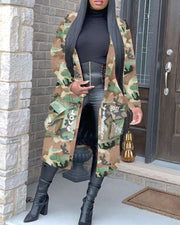 CAMOUFLAGE SISTA JACKET--          RE-STOCKED 🔥🔥🔥🔥 - Vanitique