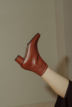 Jeanne Boots Calf Cotto / Size 36,37