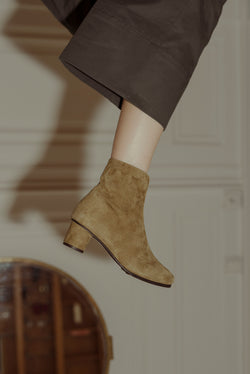Jeanne Boots Suede Hevea / Size 37