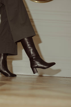 Mimo Long Boots Calf Black