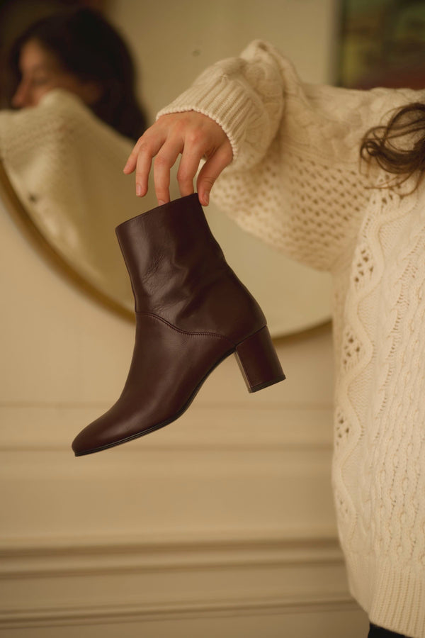 Mimo Boots Bordeaux