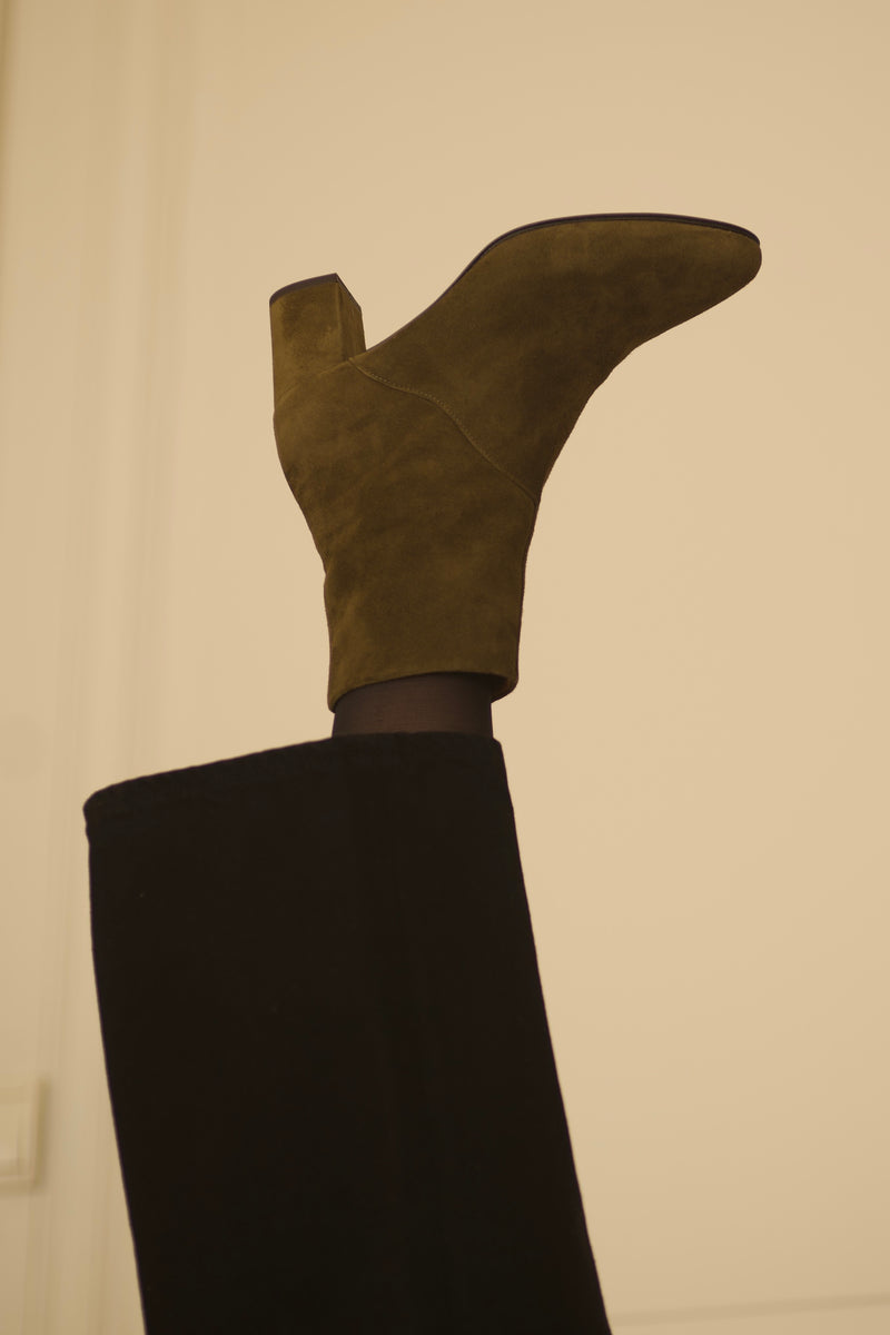 Mimo Boots Velours Bornéo - More sizes soon !