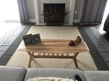 Load image into Gallery viewer, Spicoli Danish Surfboard Coffee Table in Hard Maple