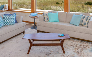 Spicoli Danish Surfboard Coffee Table in Walnut - anderson-furniture-and-design