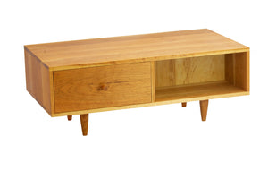 Mid Century Coffee Table in Cherry - anderson-furniture-and-design