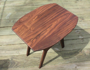 Marcus Danish Side Table in Walnut - anderson-furniture-and-design
