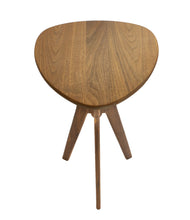 Load image into Gallery viewer, Morello Guitar Pick Side Table in Walnut - anderson-furniture-and-design