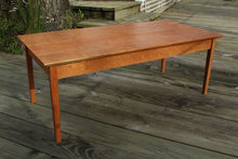 Load image into Gallery viewer, Tapered Leg Coffee Table in Cherry - anderson-furniture-and-design